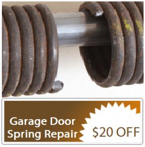 broken garage door spring replacement centennial co